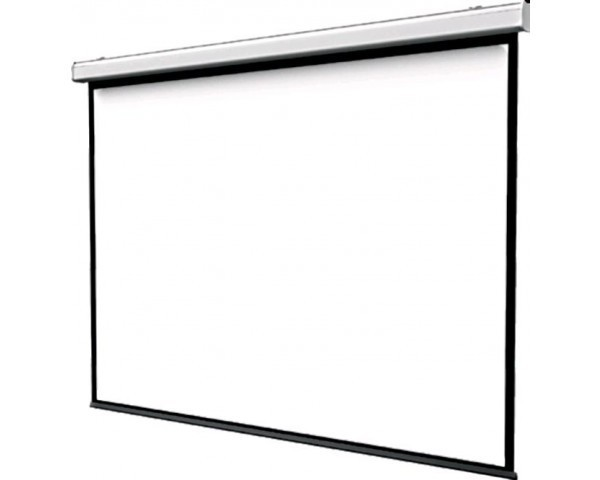 da parete o soffitto /Schermo Bianco Opaco 244/x 183/cm 96 x 72 Luxburg/® 120/Full HD 3d Schermo di proiezione manuale/